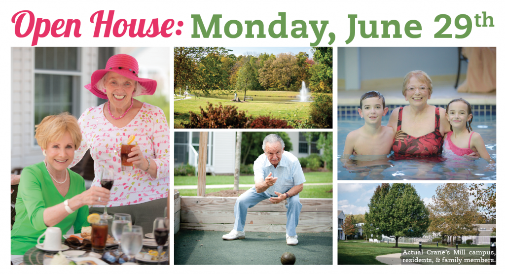 Join us on Monday, June 29 from 1:00 to 4:00 p.m. for a special open house event!