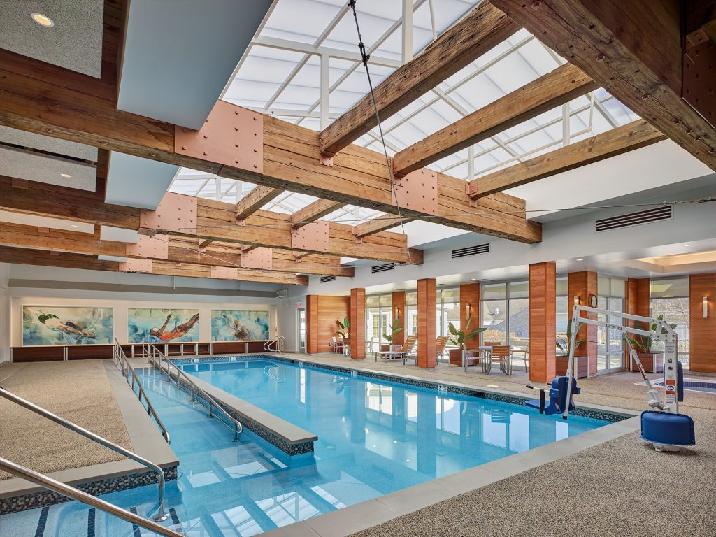 Crane's Mill Indoor Heated Swimming Pool