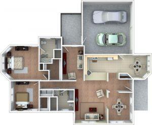 Bloomfield Floor Plan